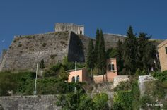 The new fort. Corfu Old Town. Greece. TONE LEPSOES PICTURES. Corfu Town, Corfu Greece, Old Town, Venetian, Photos, Pictures, Island, Mansions, Architecture