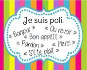 Rules of life of the class - - French Teaching Resources, Teaching French, French Classroom, Classroom Language, French Lessons, School Organization, Learn French, First Day Of School, Kids Education