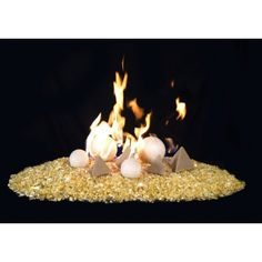 An exciting alternative to traditional fireplace media, the Real Fyre GEO Tetra Fire Shapes can give your classic gas fireplace an extra boost of style. Glass Rocks, Fire Glass, Contemporary Fireplace Accessories, Vented Gas Fireplace, Fire And Stone, Ceramic Fiber, Traditional Fireplace, Gas Logs, Fireplace Design