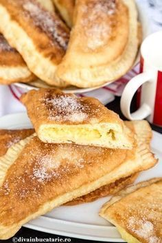 Romania Food, Romanian Desserts, Savory Pastry, Good Food, Yummy Food, Just Bake, Pastry And Bakery, Eat Dessert First, Sweet Cakes