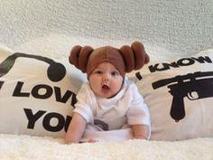 Baby Leia for Halloween!  #starwars #baby