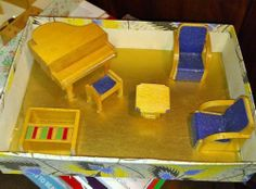 Boxed set of living room furniture by A E Twigg & Co | eBay