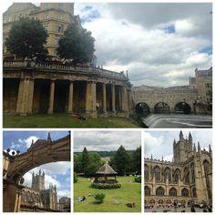 O que fazer na pequena Bath, na Inglaterra.