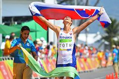 Matej Toth's 50km race walk #gold is the Slovak Republic's first #Olympics medal in #athletics.
