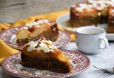 Paleo körtés mandulás fordított torta Muffin, Sweet Tooth, French Toast, Gluten Free, Breakfast, Food, Cukor, Biscotti, Heaven