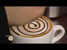 Een chocolade roos in je koffieschuim maken. - Instructies - Weethetsnel.nl