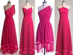 Image result for raspberry bridesmaid dresses uk