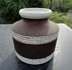 Aldo Londi Mid Century Modern Art Pottery Vase Rosenthal Netter Italy