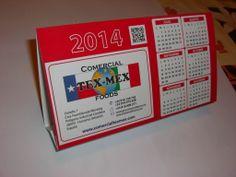 Calendarios Sobremesa - Comercial TexMex