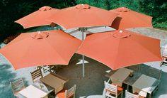 Paraflex Multi Umbrellas - Ombrelones Multi.