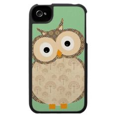 Cute Baby Owl Iphone 4 Covers by In_case