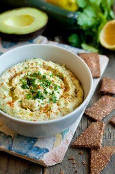 Hummus de calabacín y aguacate (SIN GARBANZO) no poner ajo. Paleo, Keto, Ratatouille, Real Food Recipes, Tapas, Oatmeal, Healthy Eating, Low Carb, Cooking