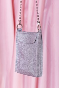 HOLO GLITTER CROSS BODY BAG - product images  of