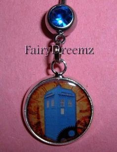 I want this. its a steam punk tardis belly ring.