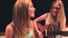 Watch Beautiful Sisters Sing A Duet In Pitch Perfect Harmony. A Must Hear! Acoustic Music, Acoustic Covers, Music Express Magazine, Sara Bareilles, Pitch Perfect, Songs To Sing, Teaching Music, Bob Marley, Fun To Be One