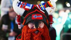See Sochi fans wearing their spirit from head to toe.