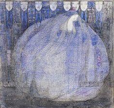 The Mysterious Garden by Margaret Macdonald Mackintosh. Scottish Art Nouveau