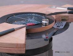 Pyre: the Social BBQ on Industrial Design Served