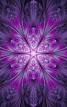 Ultra Fractal 5 For La-fi's Purple contest - I would like to thank anyone who faves my work ahead of time. Art Fractal, Fractal Images, Fractal Design, Purple Wallpaper, Colorful Wallpaper, Wallpaper Backgrounds, Wallpapers, Cellphone Wallpaper, Iphone Wallpaper