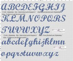 This Pin was discovered by Dra Cross Stitch Alphabet Patterns, Alphabet Charts, Cross Stitch Letters, Stitch Patterns, Needlepoint Stockings, Needlepoint Stitches, Abc Letra, Crochet Letters, Le Point