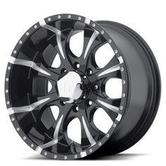 Helo He791 Maxx Black 18x9 6x139.7 18et 108, Gloss Black Milled