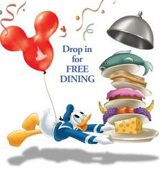 Get a FREE Dining Plan when you purchase a non-discounted 6-night/7-day room & ticket package at select Walt Disney World Resort hotels for select nights this fall. Availability is limited. Don't let this great offer pass you by, give me a call today @ 985-232-5966 for a FREE quote! ºoº