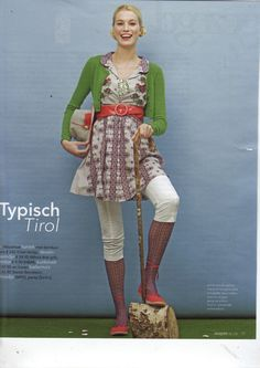 Odd Molly embroidered dress in Margriet Netherlands February 2008