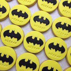 Batman Cookie.. She Bee Cake&Cookie  She Bee Pasta&Kurabiye