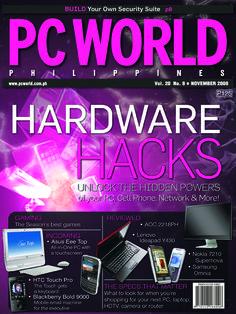 PCWorld Philippines November 2008 cover