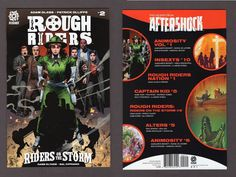 Rough Riders: Riders On The Storm #2 Comic Book 2017 Aftershock Roosevelt NEW NM