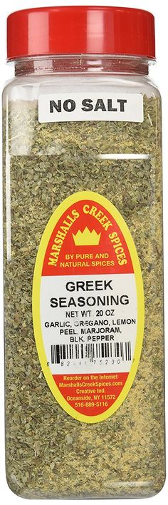 Marshalls Creek Spices X-Large Size Greek Seasoning, 20 Ounces -- Stop everything and read more details here! : Amazon fresh