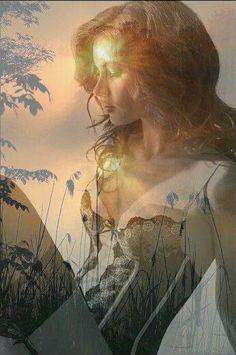 Donna - Vita - Amore. Senza la donna il mondo sarebbe privo di luce e di colori. Con essa vivi il sentimento meraviglioso e sublime che ti dona forti emozioni. Amore e rispetto in sintonia danno quella unicità che fonde i due cuori che lo desideravano. Tutto divine vita che pulsa nei battiti di quei cuori avvolti negli infiniti orizzonti dell'Amore.  Ivano Brugnelotto