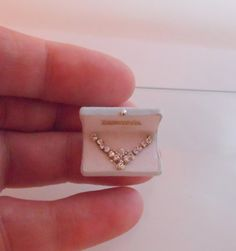Dollshouse Miniature Necklace in a Box.