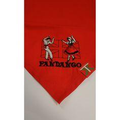 Pañuelo rojo - dantzaris Artículos de Euskadi y artesanía vasca en Nonbait com