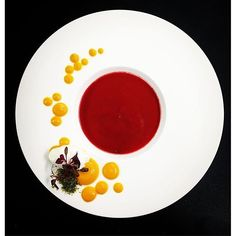 @mayskydome : Happy Valentine's Day! Beet & carrot soup.