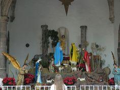 El nacimiento tradicional (Traditional Nativity) de Cuernavaca, Mexico