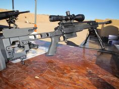 New ArmaLite AR-30A1: At the 2013 SHOT Show, ArmaLite, which is a major sponsor of the show, revealed the new AR-30A1 bolt-action rifle available in .338 Lapua and .300 Winchester Magnum. While the new rifle retains the streamlined design of the original, ArmaLite managed to safely cram novel and practical features in every nook and cranny in the thing.As the company explains, the new rifle is essentially an upgraded AR-30, which was introduced as a scaled down version of the AR-50 in 2000