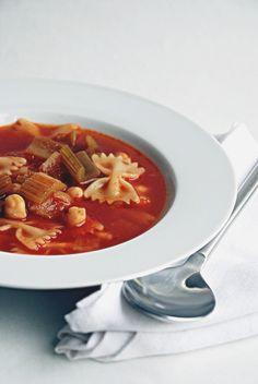 Trufla: Ciecierzyca. Pomidory. Seler. Zupa.