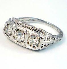 Pictures of engagement rings - Luscious blog - LaurenRoseDesign on Etsy.jpg I love vintage