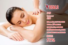£49 instead of £99 for a spa day for two with a 25-minute chocolate, bamboo or Swedish back, neck and shoulder massage - choose from over 30 locations and #save up to 51% http://www.grabdeals.today/uk-en/deal_detail/11882