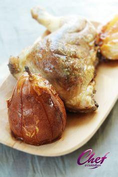 Erdélyi töltött csirkecomb recept - Csirkehús receptek Baked Potato, Pork, Potatoes, Meat, Baking, Ethnic Recipes, Kale Stir Fry, Pigs, Bakken