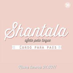 Identidade Visual - Nova turma!! O Curso de Shantala para pais De noiva a mãe em parceria com a…