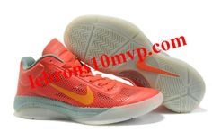 Nike Zoom Hyperfuse Low 2010 Shoes Red Team/Orange/Grey