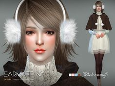 Villi earmuffs,this is we try new things, you can find it in hat  Found in TSR Category 'Sims 4 Female Hats'