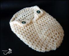 Mamma That Makes: Collar Cocoon - Preemie - Free Pattern