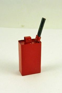 Dollhouse Miniature Red Gas Can