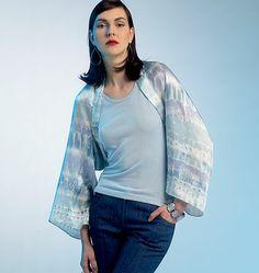 V8820 | Misses' Jacket | Elizabeth Gillett NYC | Vogue Patterns xsm-med