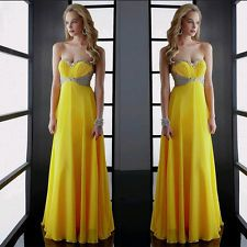 Women Bridesmaid Ball Prom Gown Formal Evening Party Cocktail Long Dress