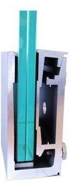 GG-1003  Glasgeländer Profil - Profil garde-corps - Glass railing profil -  Profil za staklene ograde Glass Balustrade, Glass Railing, Locker Storage, Furniture, Home Decor, Profile, Decoration Home, Room Decor, Home Furnishings