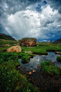 Sky Garden Blaze - Ice Lake Basin, Colorado